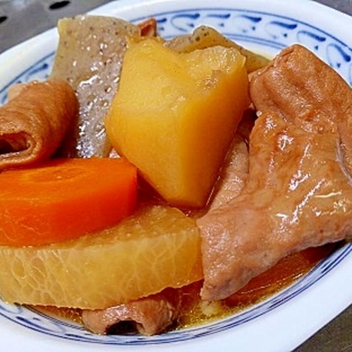電気圧力鍋で作る超柔らか白豚もつ煮