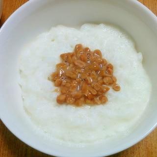 【離乳食】長芋納豆