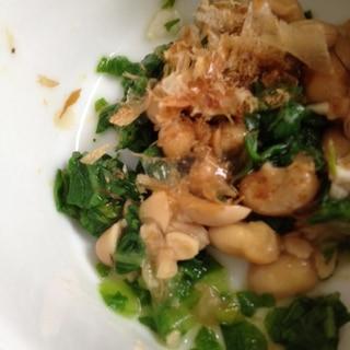 離乳食☆小松菜と納豆の和えもの