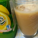 簡単さわやか♪レモン練乳アイスカフェオレ