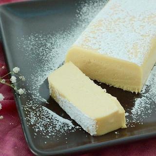 パウンド型でつくる簡単&濃厚「白いチョコテリーヌ」