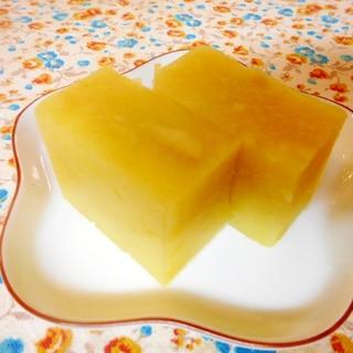 レンジではちみつ芋ようかん