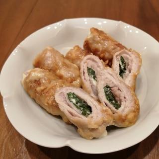 お弁当やおつまみに★豚肉の大葉チーズ巻き