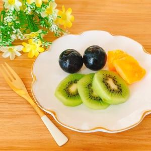 好きなフルーツで♡朝のフルーツ盛り合わせ✧˖°