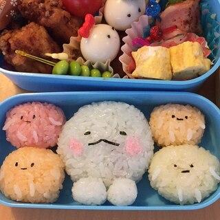 お昼が楽しみ!すみっこぐらし弁当♪