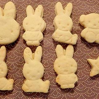 子供と作ろう★卵・バター不使用★簡単型抜きクッキー