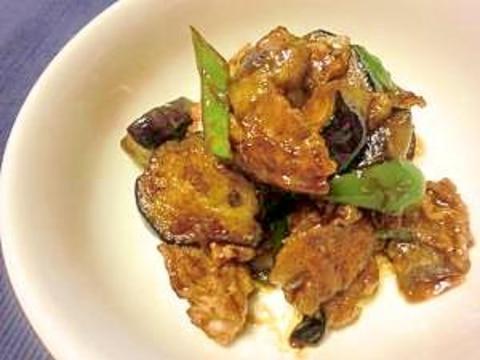 ご飯がすすむ~!豚肉と茄子の味噌炒め