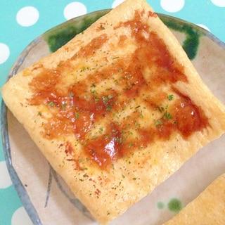 辛子&ソースの油揚げ焼き★