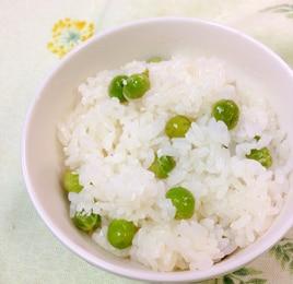 炊飯器で簡単 豆ご飯