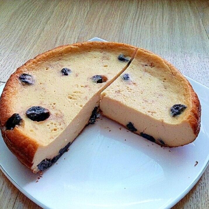 ドライブルーベリーで♪ヨーグルトチーズケーキ