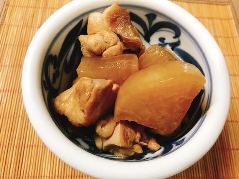 すき焼のたれで作る!鶏もも肉と大根の煮物