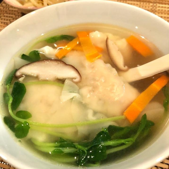 ワンタン スープ 野菜