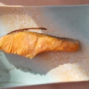 鮭オリーブオイル焼き☆醤油麹マヨたれ