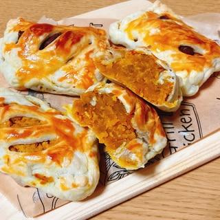 ⭐超簡単⭐冷凍パイシートで作るかぼちゃパイ