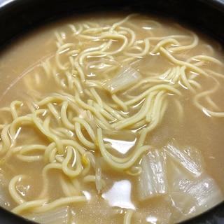 ちゃんぽん鍋のシメ