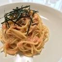 簡単にお店の味!たらこ、明太子スパゲッティ♪