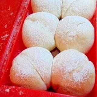 ルクエ一つでふわふわっ白パン!!
