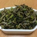 カルシウムたっぷり♪小松菜ジャコ炒め