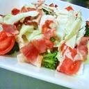あま~い白菜でシーザーサラダ♪