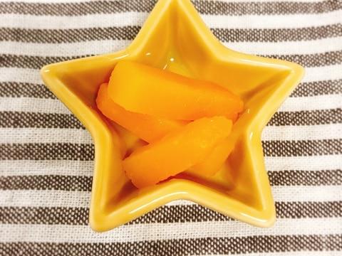 【離乳食後期】レンジで作る!かぼちゃスティック