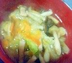野菜たっぷりすまし汁