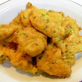 豆腐&エビ&人参&ニラ入り ❤白身魚のすりみ揚げ❤
