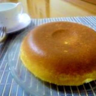 炊飯器でホットケーキミックスのプレーンケーキ☆