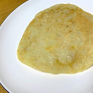 離乳食後期 バナナパンケーキ