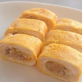 お弁当に♪簡単♪たらこマヨネーズ入り卵焼き