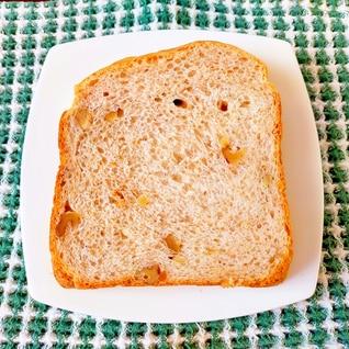 耳も柔らか☆全粒粉·くるみ·ミルクの食パン