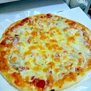 絶品!!手作りシーフードピザ♪