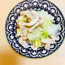 豚バラ白菜の酒蒸し
