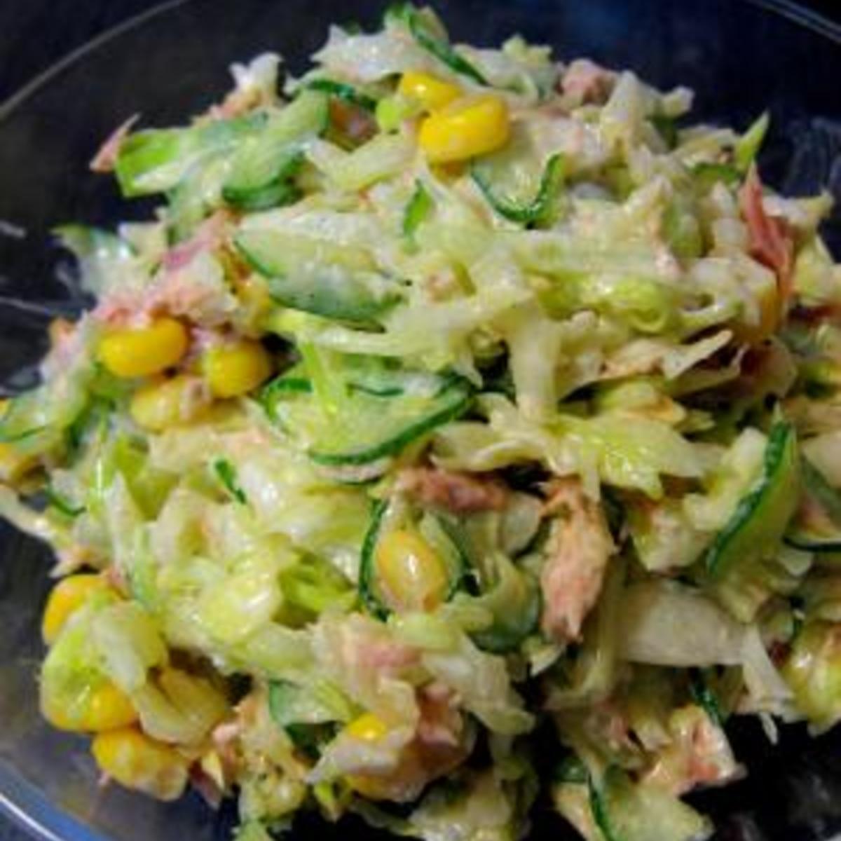 キャベツ ツナ サラダ
