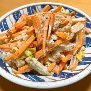 大好評!和風マヨ味★白菜と人参のサラダ