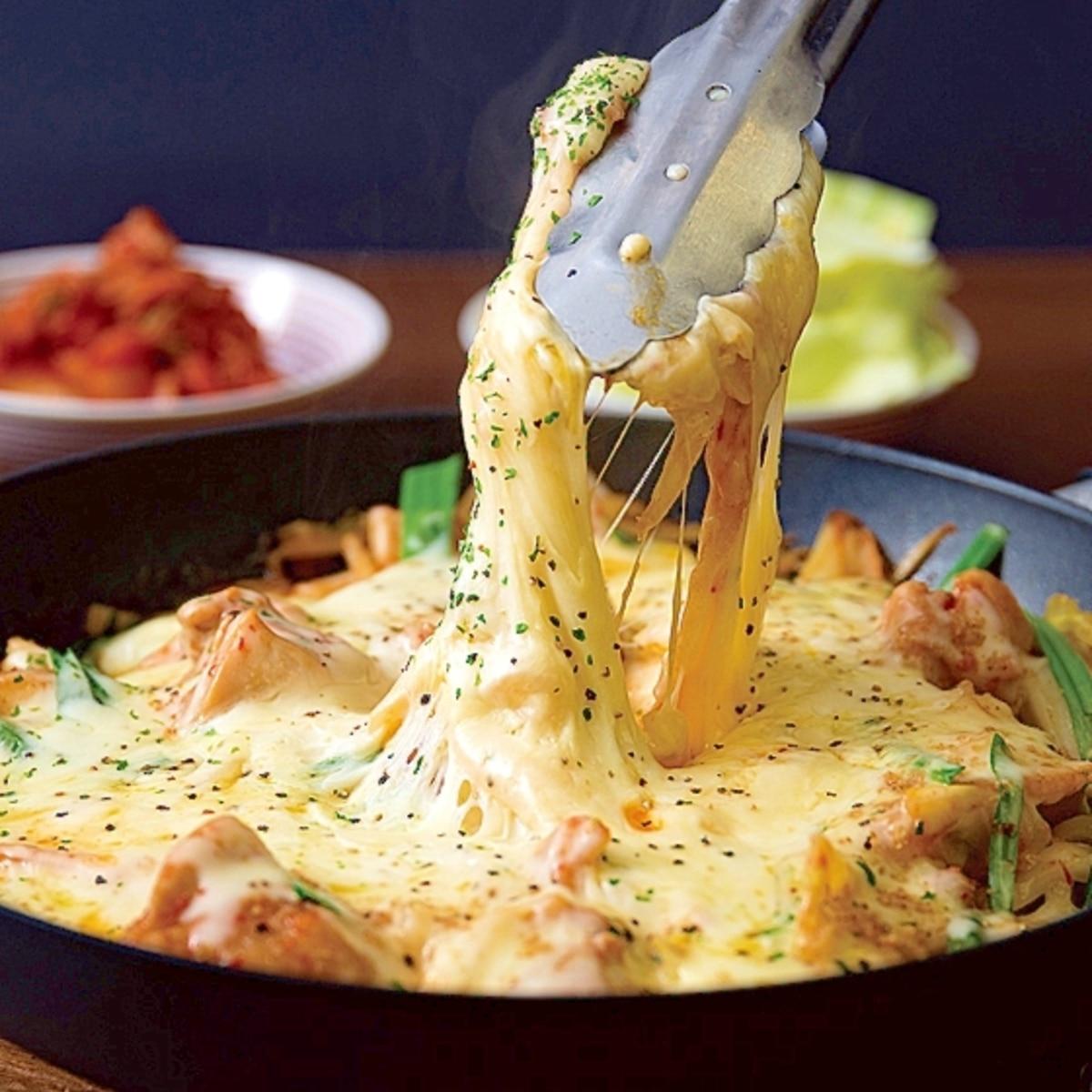 タッカルビ キムチ チーズ