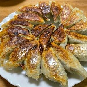 厚皮手作り餃子♪