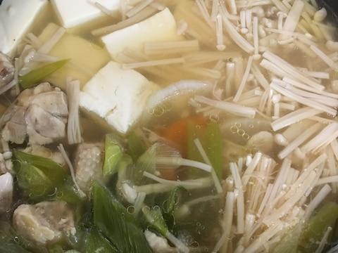 具 材 湯豆腐