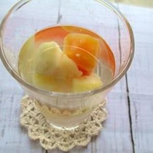 パイナップルの芯とオレンジでフルーツビネガー