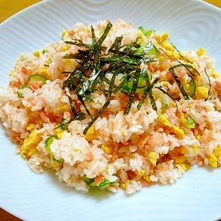 やさしい味♡鮭とたまごのちらし寿司