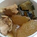 離乳食完了期にもOK♪冬瓜と茄子と鶏肉の煮物。