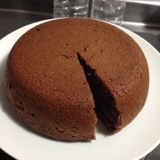 HMと炊飯器で簡単ケーキ