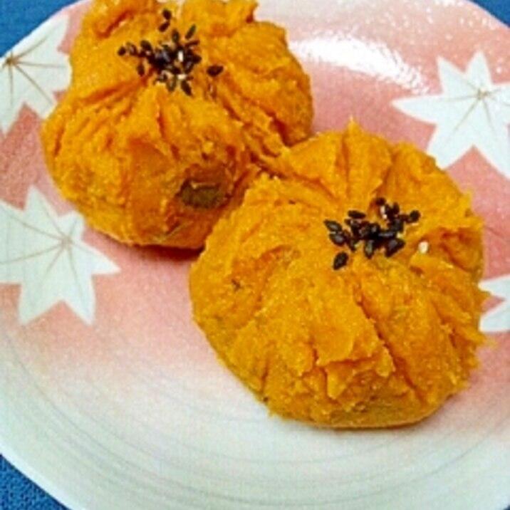 おせちにも☆南瓜煮&きなこでかぼちゃきんとん風♪