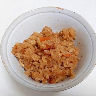きんぴらの炊き込みご飯++