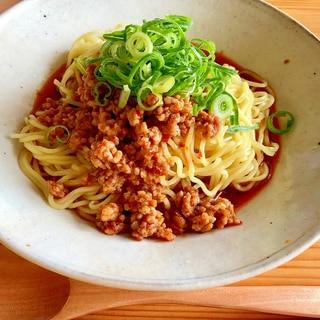 ピリピリ☆花椒たっぷり汁無し坦々麺