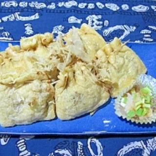納豆の袋焼き
