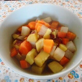 さつま芋、大根、にんじんコロコロ煮
