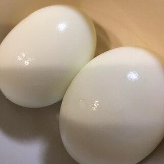 つるんと剥ける茹で卵