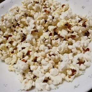 映画館みたいなポップコーン☆塩バター