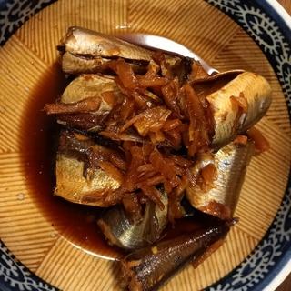 うるめイワシの生姜煮