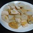 大根と鶏むね肉の塩煮